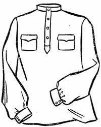 Рисунок рубашки